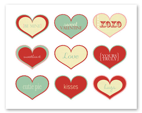 graphic regarding Valentine Heart Printable named valentines working day printables