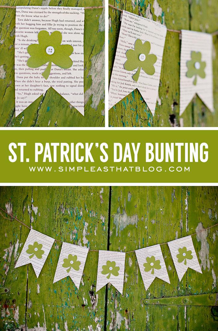 simple st patricks day banner