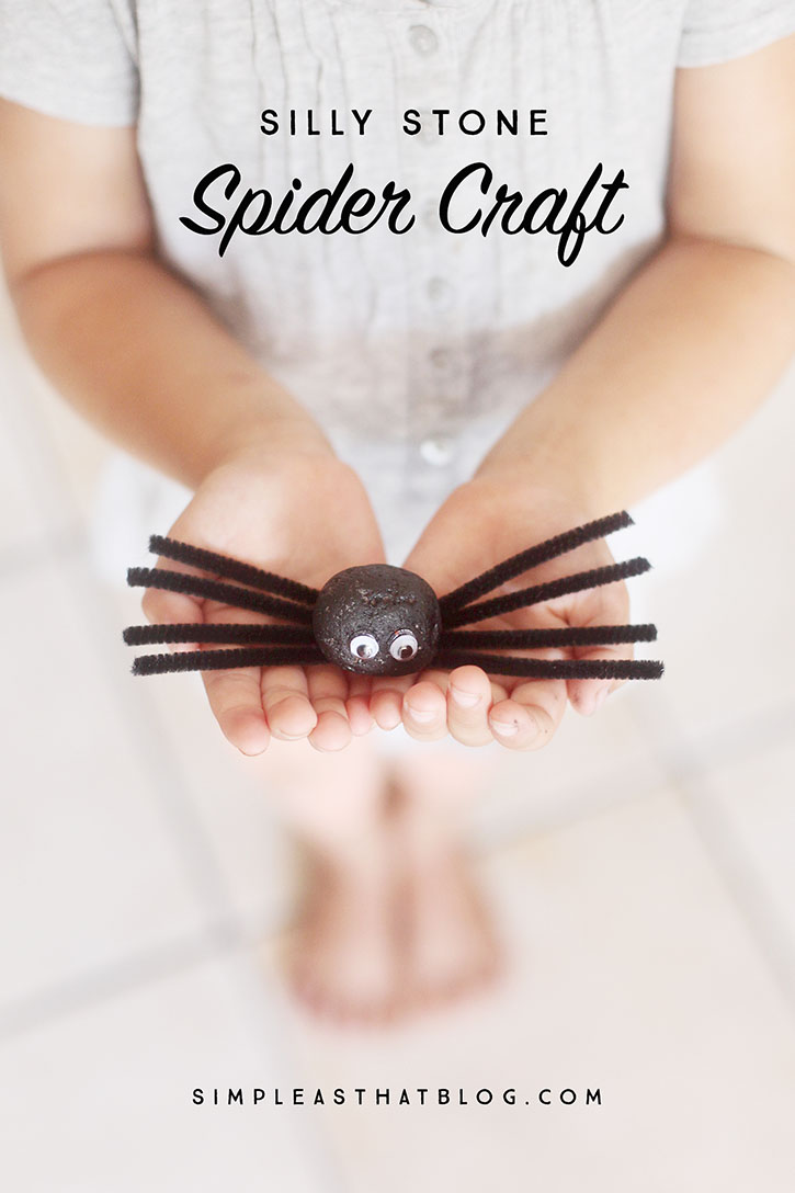 With a short list of inexpensive, easy to find supplies these fun little spiders are sure to be a Halloween crafting with with the kids!