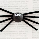 Silly Stone Spider Kids Craft