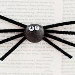 Silly Stone Spider Kids Craft