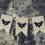 friday craft day: simple halloween bunting