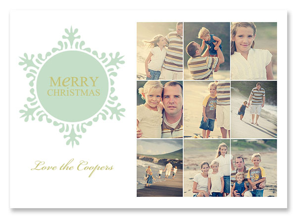 Christmas Card Templates from Simple as That