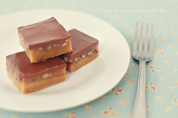 turtle bars: a favorite holiday recipe - simple as that