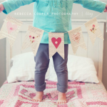 Simple Valentine's Day Bunting