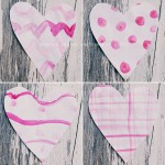 friday craft day: pretty patterned hearts