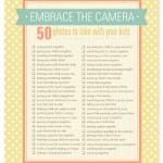 Capturing Real Life: Printable Photo Checklists