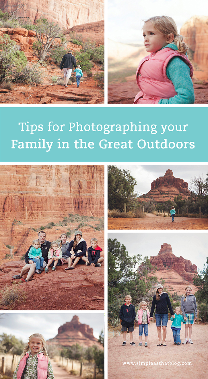 Tips for Capturing your Family in the Great Outdoors