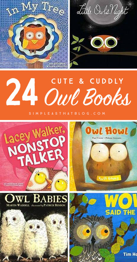 My kids adore owls! Who knew there were so many books about these fluffy, nocturnal birds!