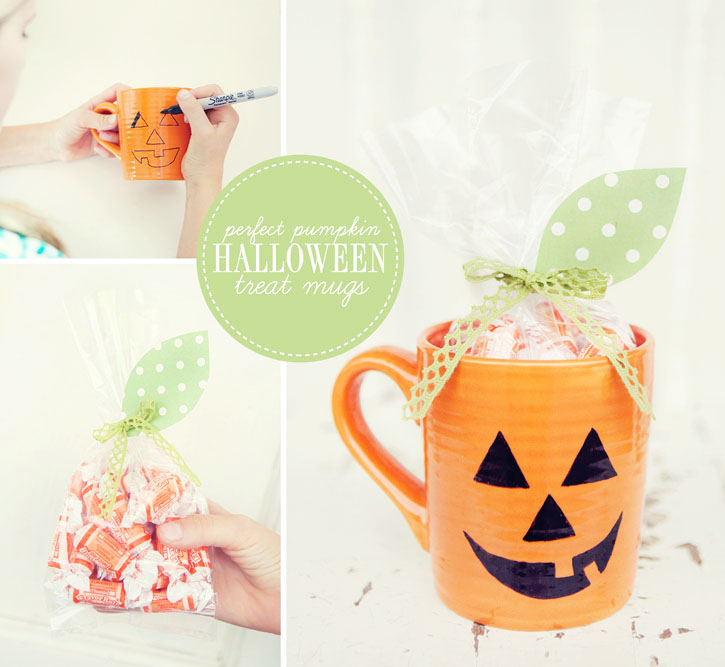 ... simple halloween diy that can be put together last minute as a treat