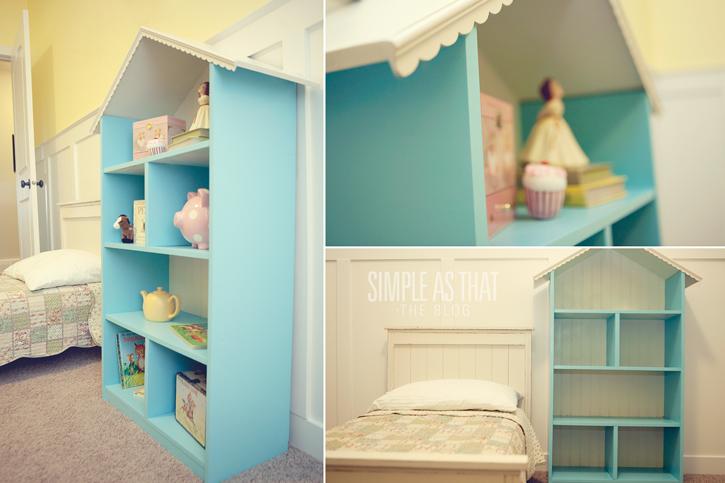 Dollhouse Bookcase Diy: Diy Dollhouse Bookshelf