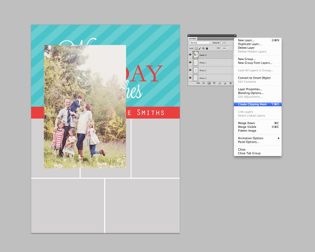 Photoshop Tutorial: How to Use Digital Templates