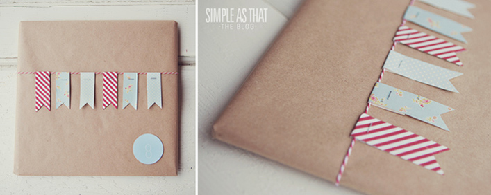 Simple + Inexpensive Christmas Gift Wrapping