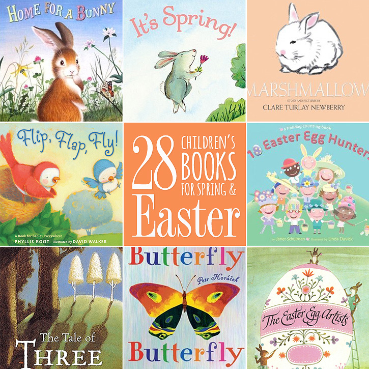 The Best of a No Candy Easter: Create Anticipation With Picture Books