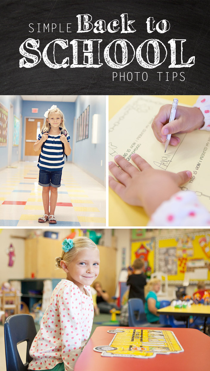 Simple back to school photo tips
