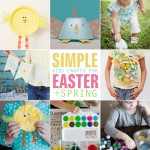 8 Simple Kids Craft ideas for Easter + Spring