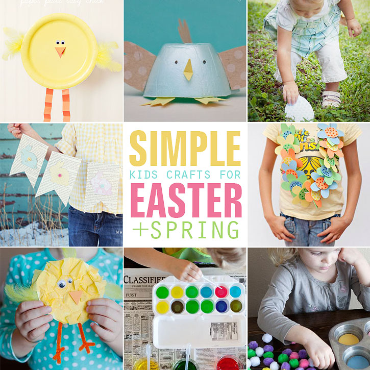 8 Simple Kids Craft Ideas For Easter Spring