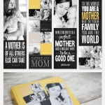Personalized Photo Bookmarks for Mom