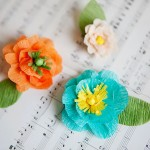 Crepe Paper Flower Tutorial