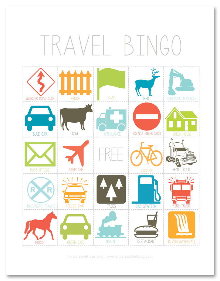 image relating to Travel Bingo Printable named Drive Video games for Your Subsequent Relatives Street Getaway