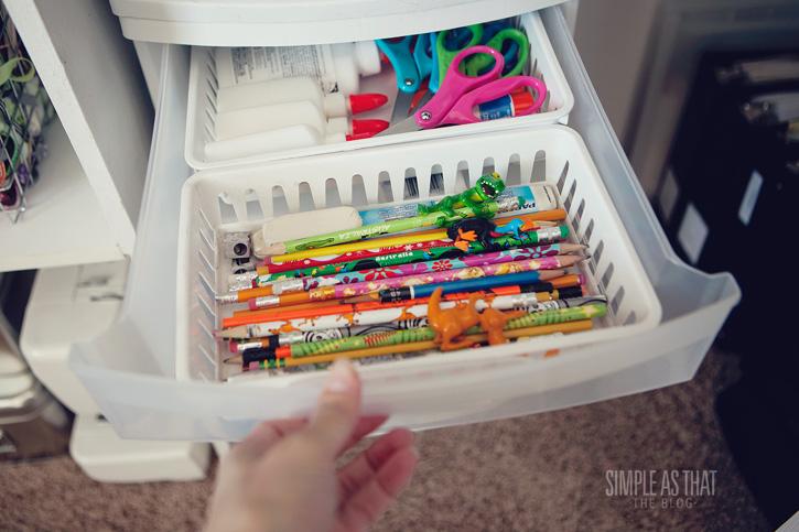Simple ways to organize kids craft supplies for How to organize craft supplies