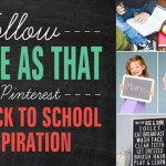 Back to School Inspiration on Pinterest
