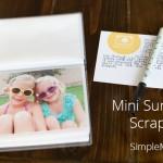Create a Mini Summer Scrapbook