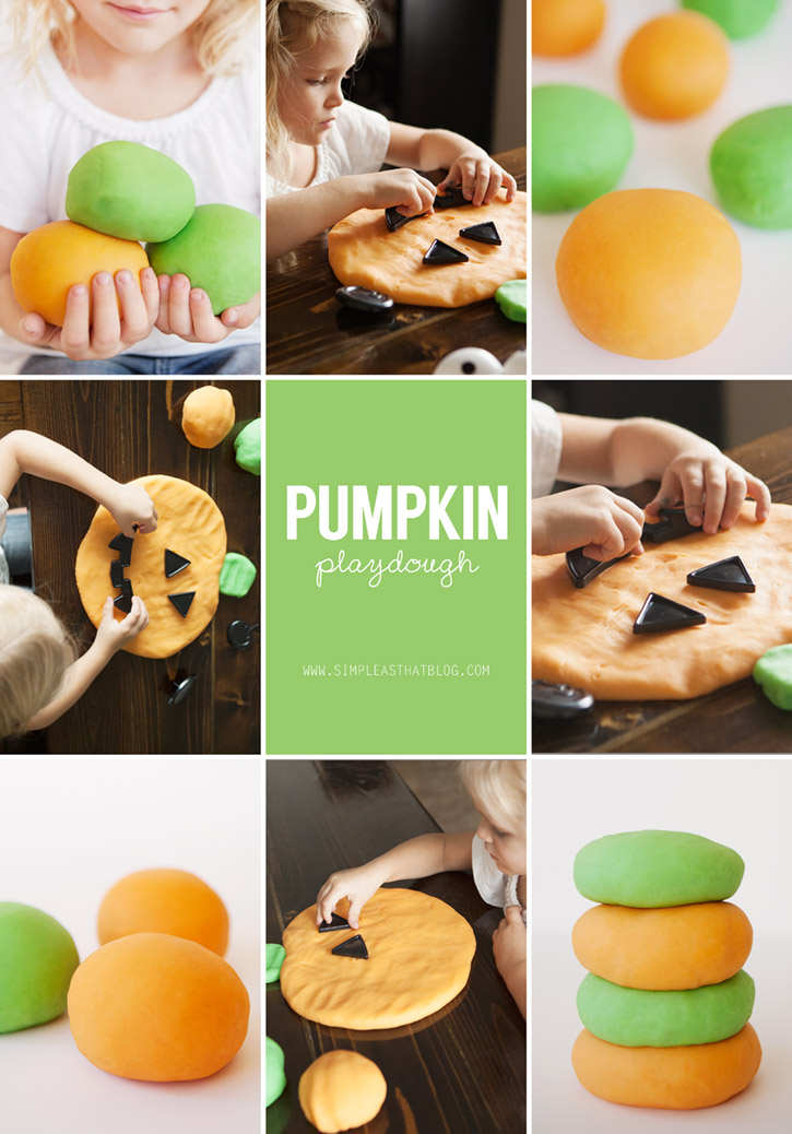Pumpkin Playdough