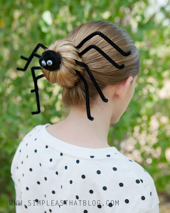Silly Spider Hairdo Tutorial