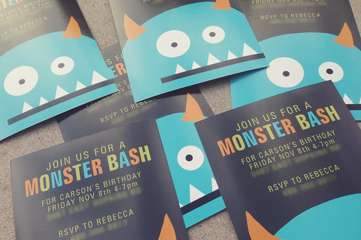 A Monster Party Made Easy – Monster Party Invites