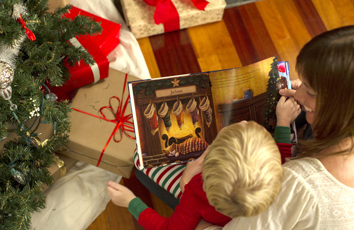 the night before christmas personalized book
