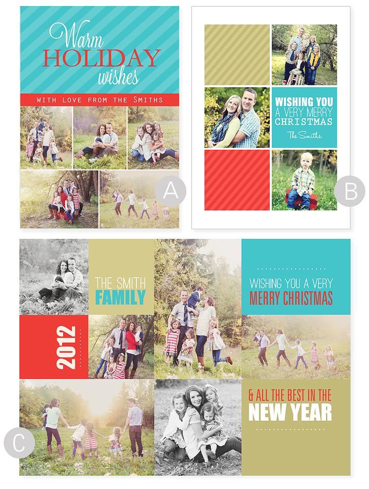 1 2 Off Christmas Card Templates