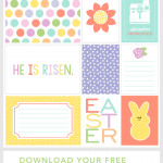 Easter / Spring Journaling and Filler Cards