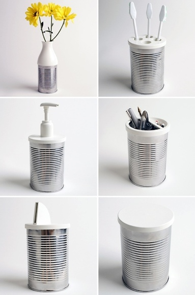25 recycled tin can crafts and projects for more earth day inspiration check out my recycled crafts diy pinterest board solutioingenieria Images