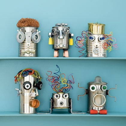 25 recycled tin can crafts and projects for Tin projects