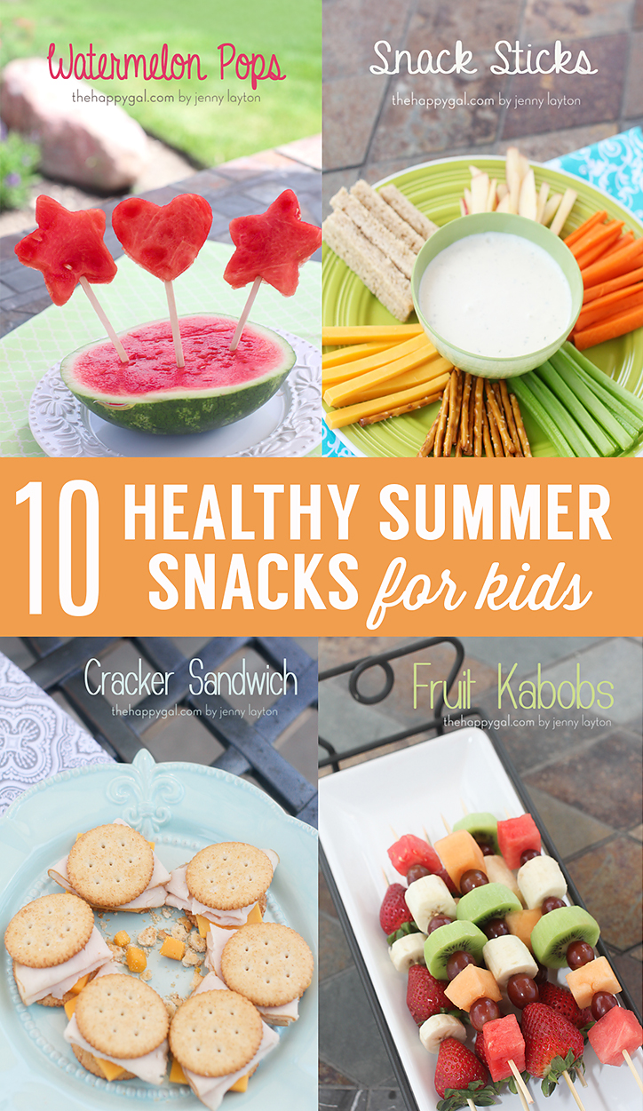 10 Healthy Kids Snacks for Summer