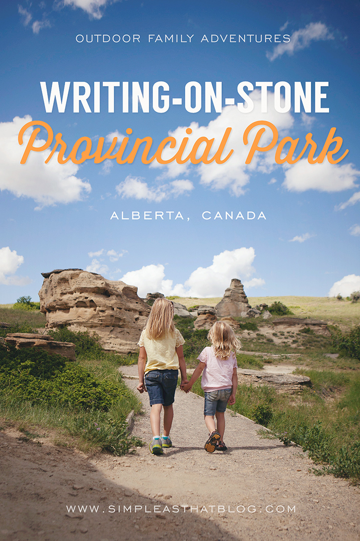 Outdoor Family Adventures Writing On Stone
