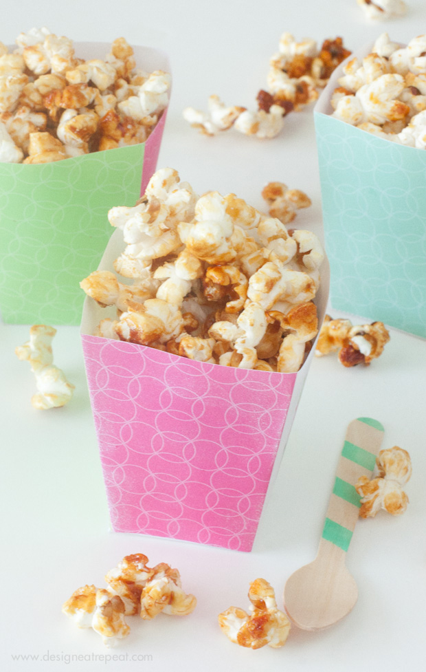 photograph regarding Printable Popcorn Boxes identified as Printable \