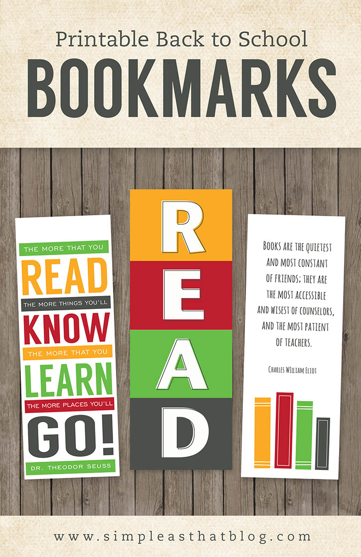 image regarding Bookmarks Printable referred to as Printable Again toward College or university Bookmarks