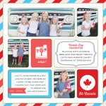 Oh Canada! Patriotic Journaling and Filler Cards