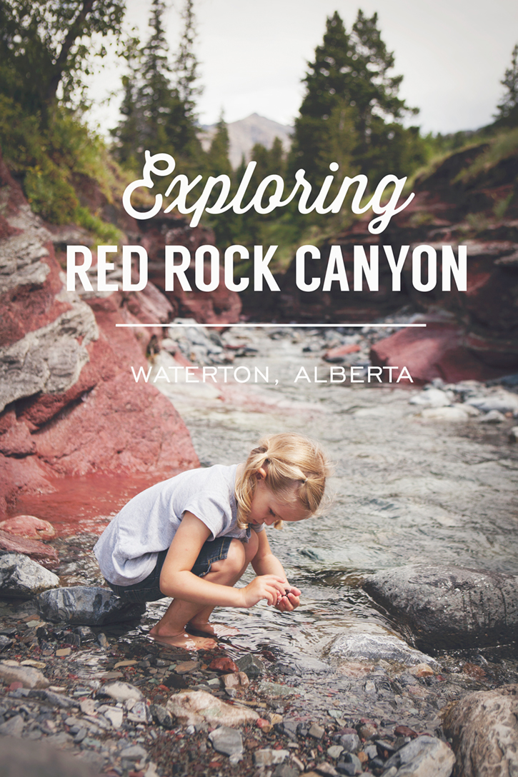 Outdoor Family Adventures in Waterton Lakes National Park | Red Rock Canyon