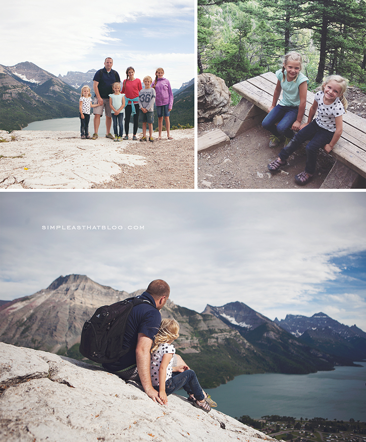 Family Hiking in Waterton Lakes National park