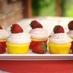 Strawberry Lemon Cupcakes
