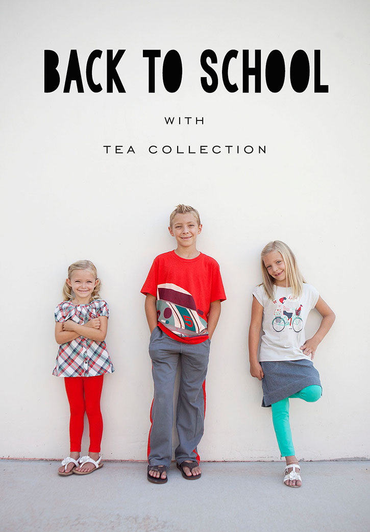 Back to School Styles from Tea Collection