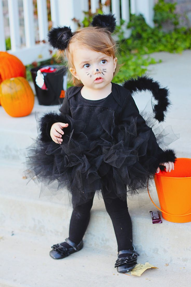 DIY Black Cat Costume