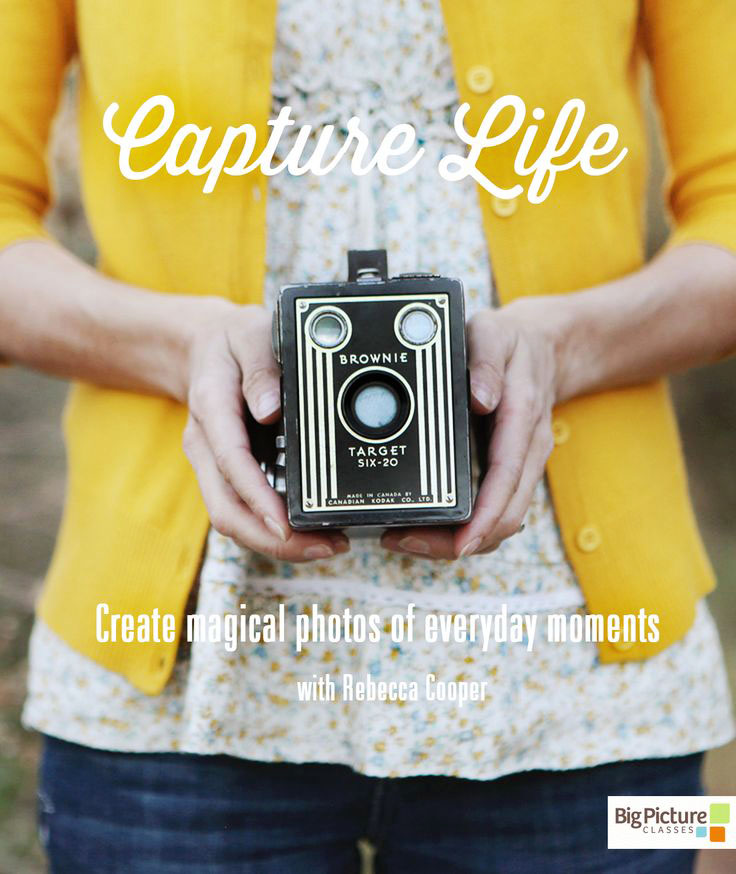 Capture Life: A 12-week photography workshop that will help you create magical photos of everyday moments.