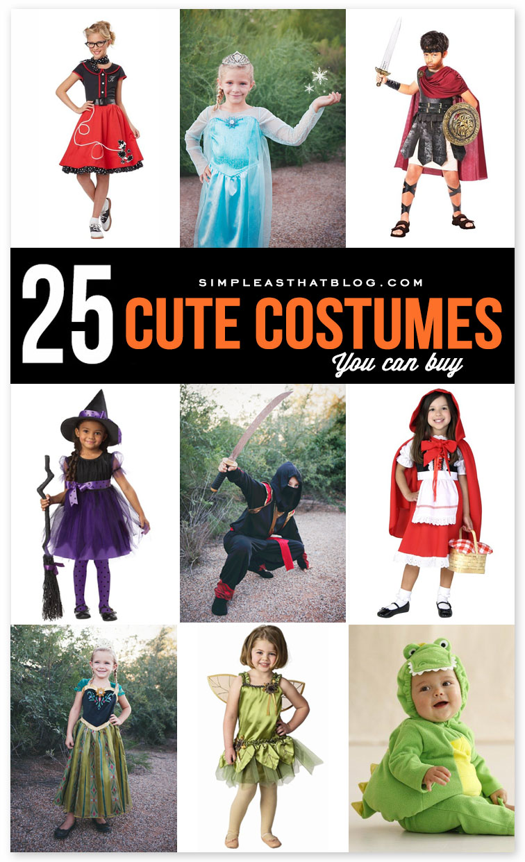 25 simple do it yourself halloween costume ideas 25 cute costumes to buy solutioingenieria Images