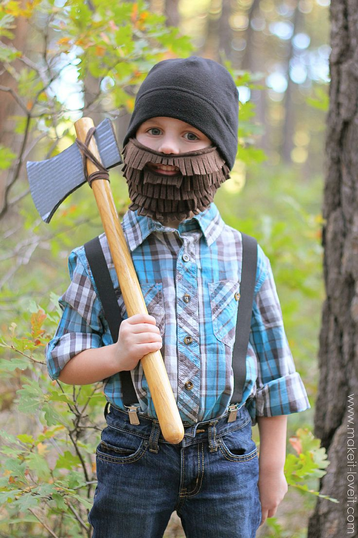 Easy Lumberjack Costume