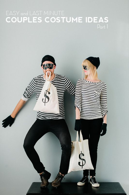 Easy Last minute Bank Robber Costumes