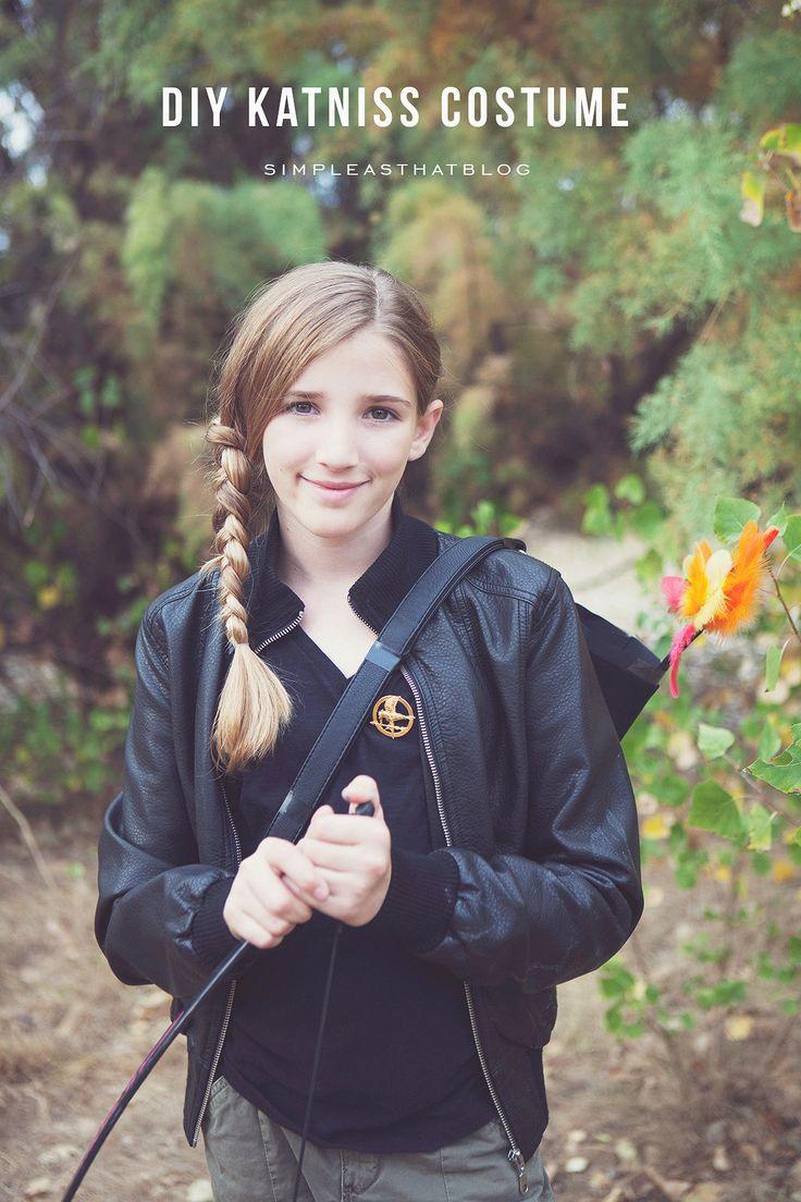 Thrifted Katniss Everdeen Costume